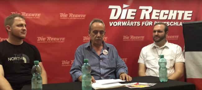 """Videointerview: Die beiden DIE RECHTE-Vorsitzenden im Gespräch mit """"Abakus News"""""""