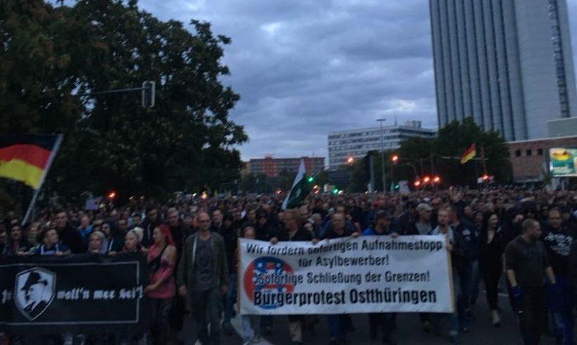 DIE RECHTE solidarisiert sich mit Protesten in Chemnitz!