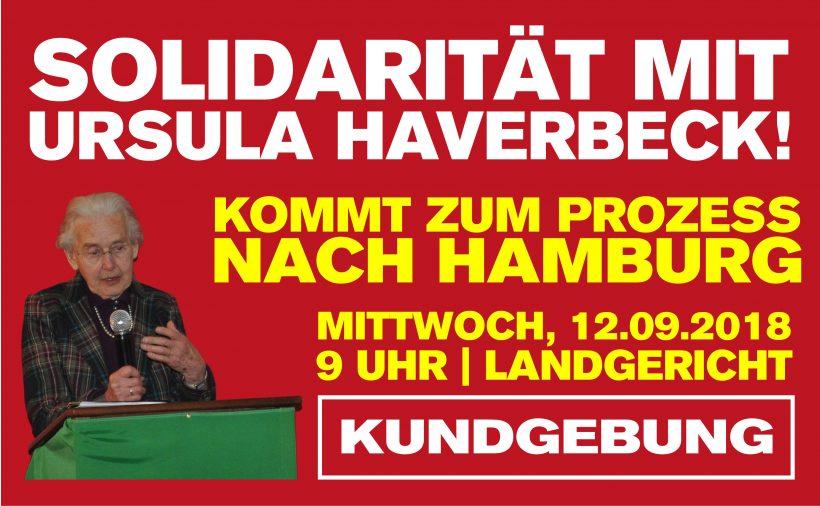 Kundgebung vor'm Gericht: Kommt am 12. September zum Haverbeck-Prozeß nach Hamburg!