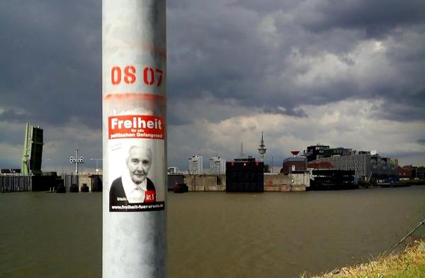 Aufkleber- und Plakataktionen in Bremerhaven!