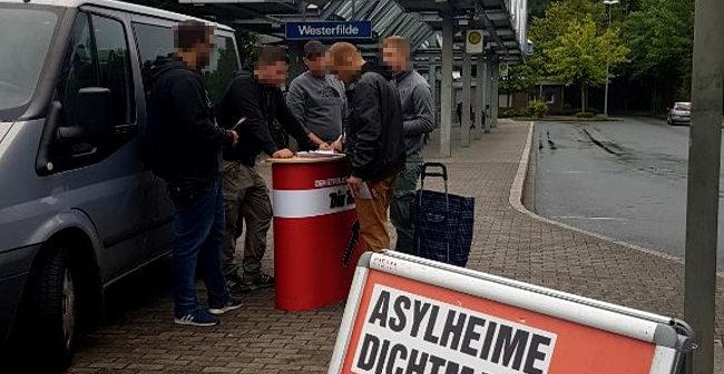 Dortmund: DIE RECHTE zeigte in Westerfilde erneut Präsenz!