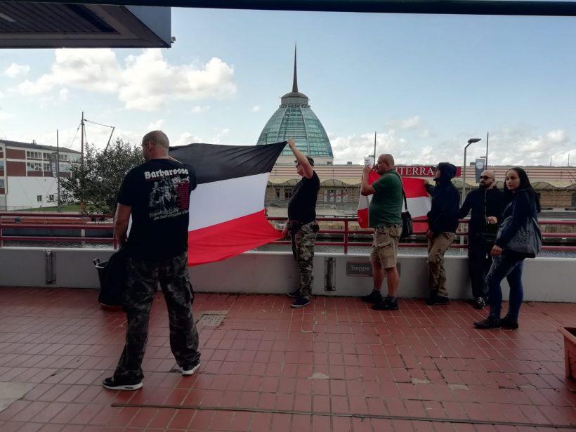 "DIE RECHTE zeigt Flagge bei linker ""Seebrücken""-Demo in Bremerhaven!"