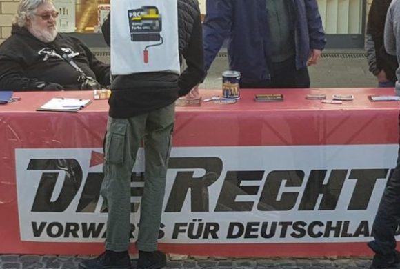 Infostand in Bergheim, Demonstrationen in Köln und überall Nazis