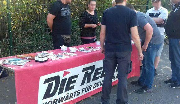 Störungsfreier Infostand in Dortmund-Marten, Antifa mobilisiert in falschen Stadtteil