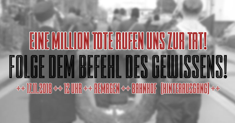 Rheinwiesenlager-Gedenken: DIE RECHTE fährt nach Remagen!