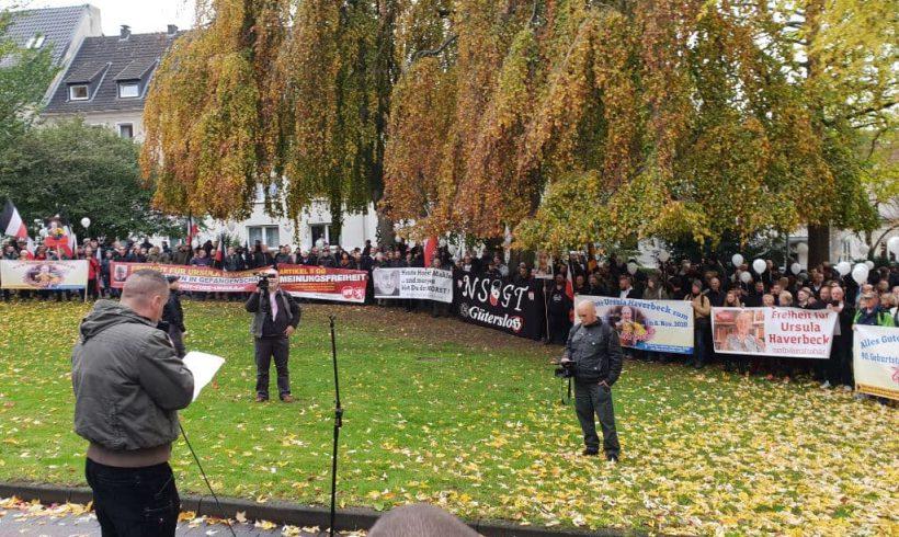 Geburtstagsdemonstration für Ursula Haverbeck in Bielefeld – Ein Rückblick