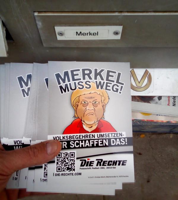 Bremerhaven: Öffentlichkeitsarbeit von DIE RECHTE weiter intensiviert