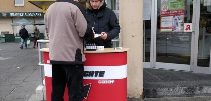 Erneut Infostände in Dortmund durchgeführt