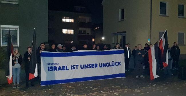 Dorstfeld: Rechte Mahnwache gegen linke Hetzveranstaltung