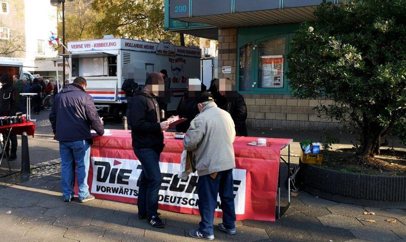 Duisburg: Infostände in Neumühl und Meiderich