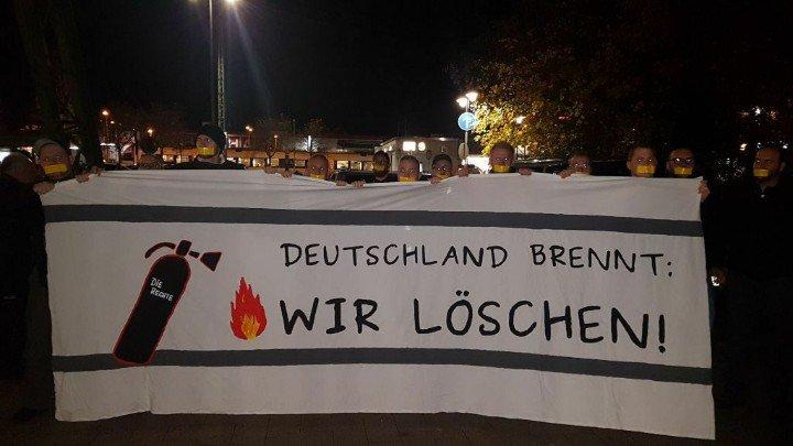 Trotz Gerichtsentscheid: Polizei verhindert Mahnwache von DIE RECHTE in Wuppertal!
