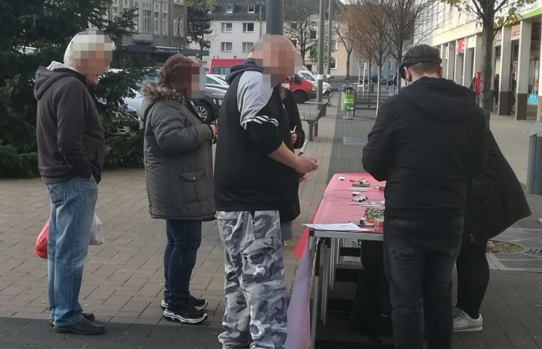 Weitere Infostände in Duisburg durchgeführt