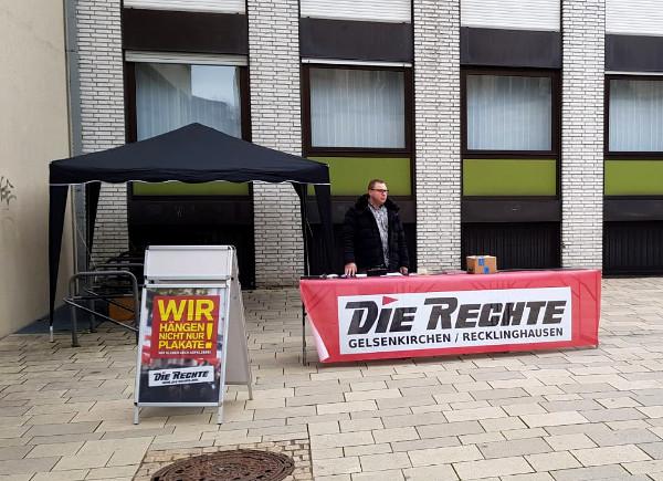 Infostand in Gelsenkirchen-Buer durchgeführt!