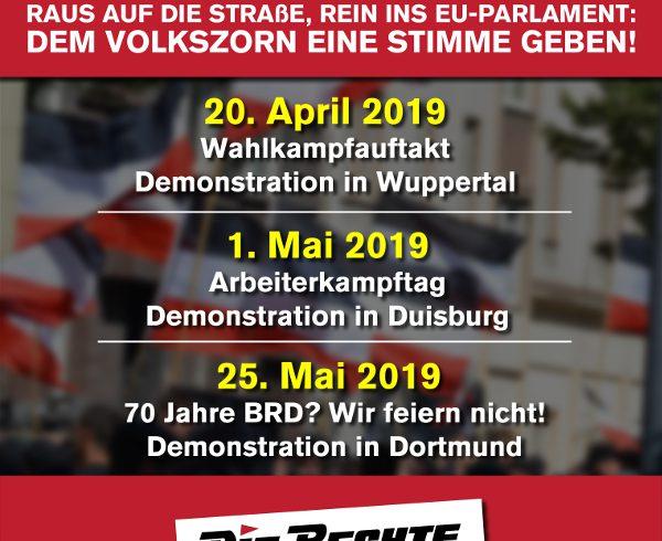 Frühjahrsoffensive in NRW: Raus auf die Straße, Demos in Dortmund, Duisburg und Wuppertal!