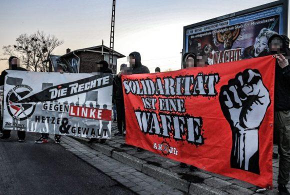 Erneute Solidaritätskundgebung am 19. Februar 2019 in Roßlau/Elbe