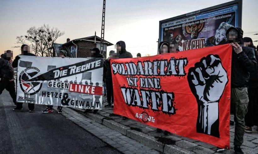 Roßlau: Solidarität ist eine Waffe – 150 Teilnehmer bei kurzfristiger Demo nach Antifa-Überfall