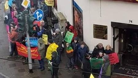 Bremerhaven: Linksextreme Provokation vor Wohnhaus des Landesvorsitzenden