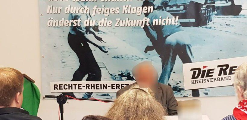 Zeitzeugenvortrag im Rhein-Erft-Kreis trotz Polizeischikanen und antideutscher Journaille erfolgreich durchgeführt!