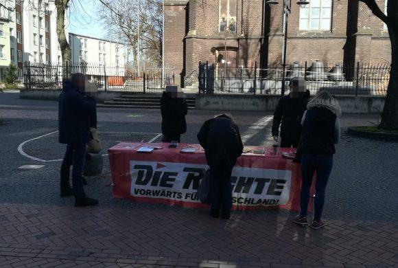 Weiterer Infotisch zur kommenden Europawahl in Duisburg durchgeführt