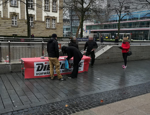 Europawahlkampf-Auftakt in Duisburg