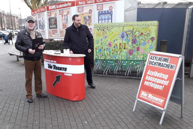 In vielen Stadtteilen: Infostand-Offensive in Dortmund