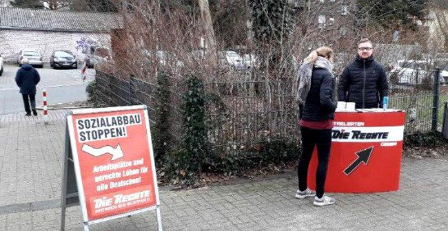 Störungsfreier Infostand in Dortmund-Marten durchgeführt