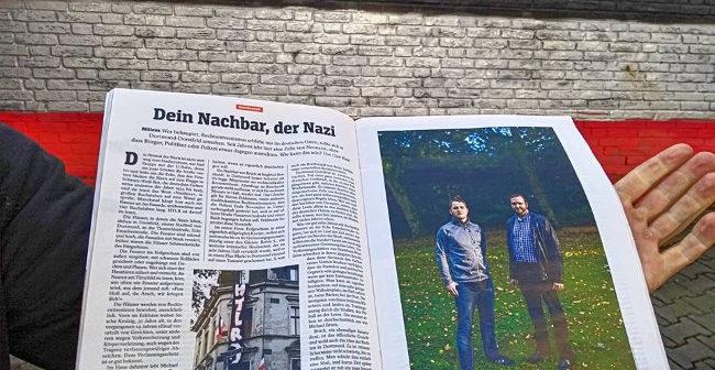 Vergleichsweise objektive Reportage über DIE RECHTE Dortmund in der SPIEGEL-Druckausgabe