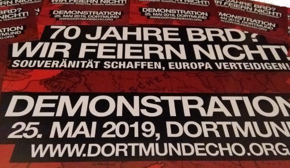 25. Mai 2019: Mobimaterial für Demonstration in Dortmund erhältlich!
