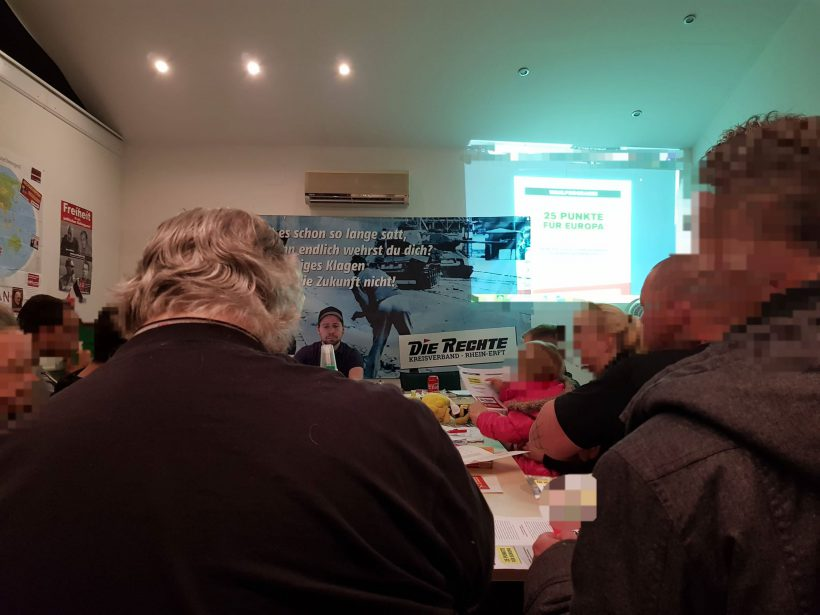 Vorstellung des geplanten Wahlkampfs im Rhein-Erft-Kreis