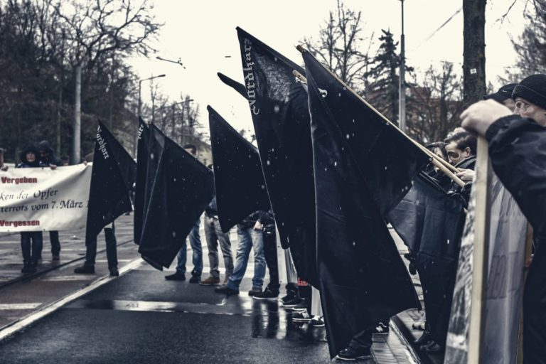 Aktionsbericht zum Gedenkmarsch in Dessau