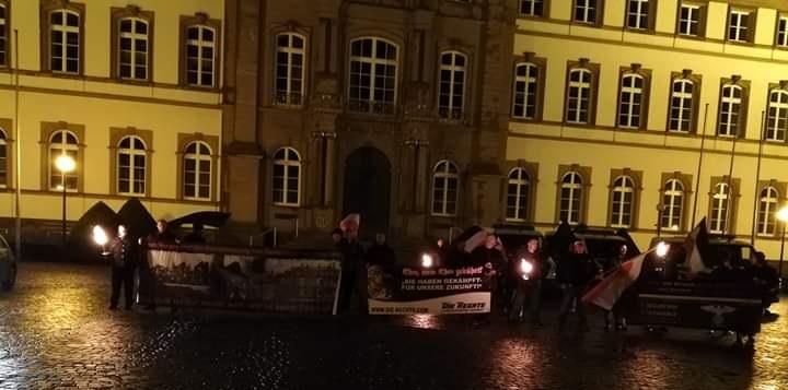 Bericht zum Fackelmarsch in Zweibrücken zum Gedenken an die Opfer des alliierten Bombenholocaust