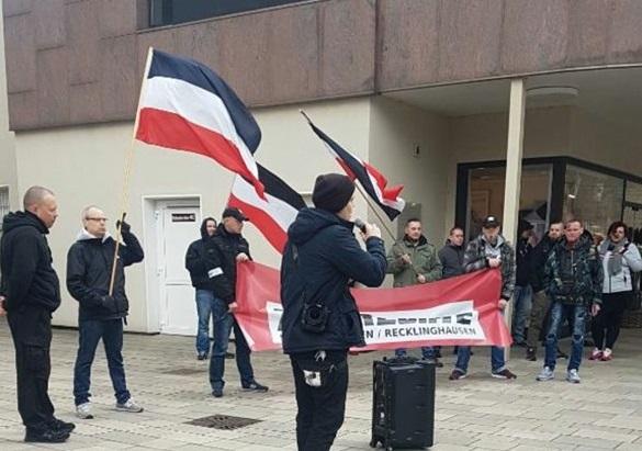 DIE RECHTE führte Kundgebung in Gelsenkirchen-Buer durch
