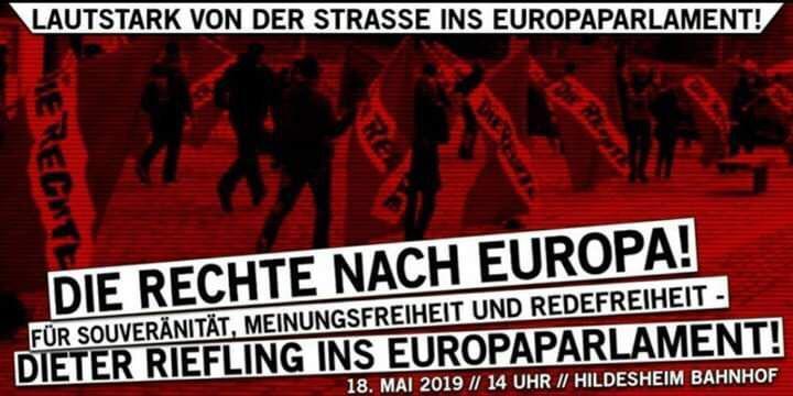 Europawahlkampf auch in Niedersachsen: Am 18. Mai auf nach Hildesheim!