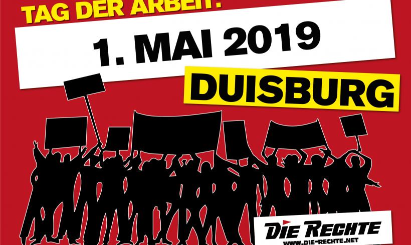 Heraus zum nationalen 1. Mai! – Verteilaktion in Duisburg-Walsum durchgeführt
