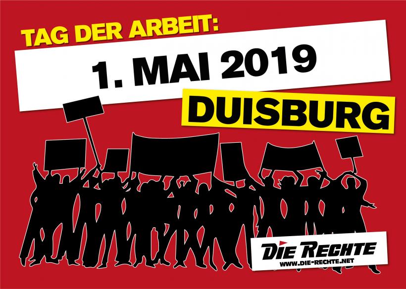Der 1. Mai 2019 in Duisburg rückt näher!