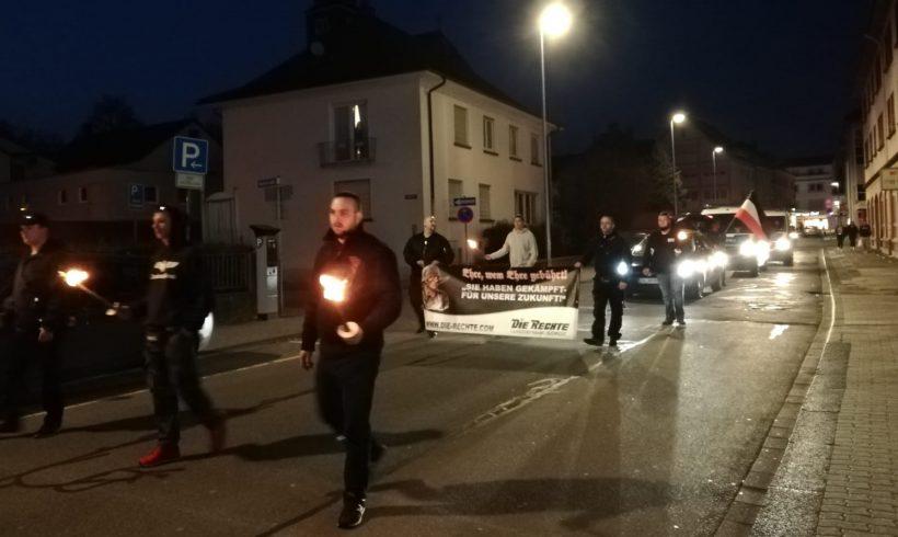 Versprochen ist versprochen – Wir halten unser Wort! Bericht und Fotos zum Fackelmarsch 2.0 in Zweibrücken