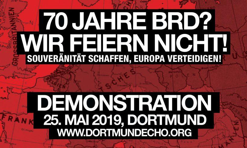 Jetzt erst recht: Alle am 25. Mai in Dortmund zum Wahlkampfabschluß auf die Straße!