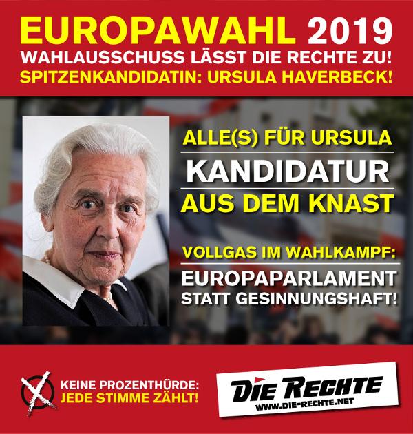 DIE RECHTE fordert im Bundestag Freiheit für Haverbeck – Es kommt zum Eklat! [Video]