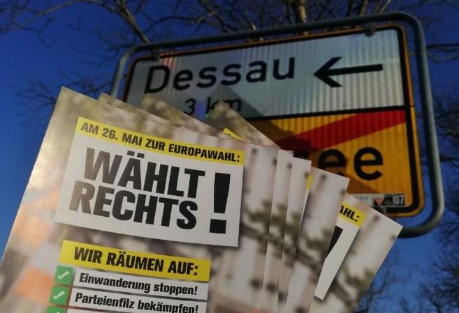 Erneute Europawahlkampf-Aktionen in Rheinland-Pfalz, Sachsen-Anhalt und Meck-Pomm
