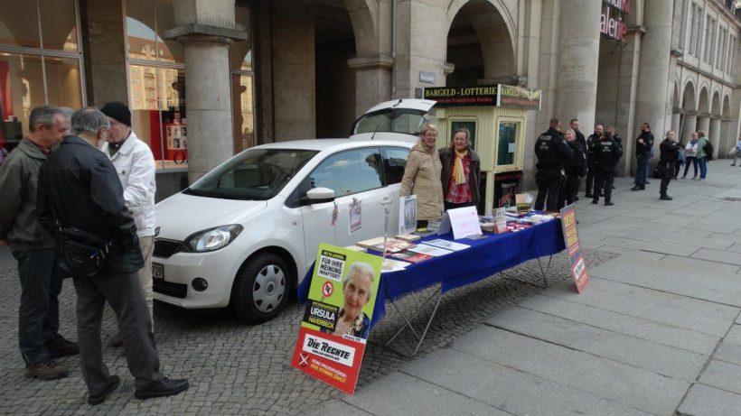 Europawahlkampf-Aktionen auch in Dresden, Gelsenkirchen und Wöllstein