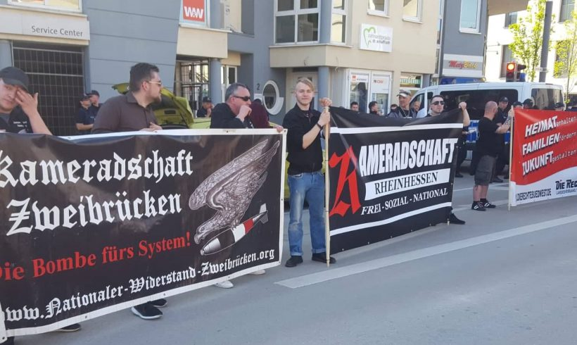 Widerstand läßt sich nicht verbieten! Bericht zum Wahlkampfauftakt am 20. April in Ingelheim / RLP