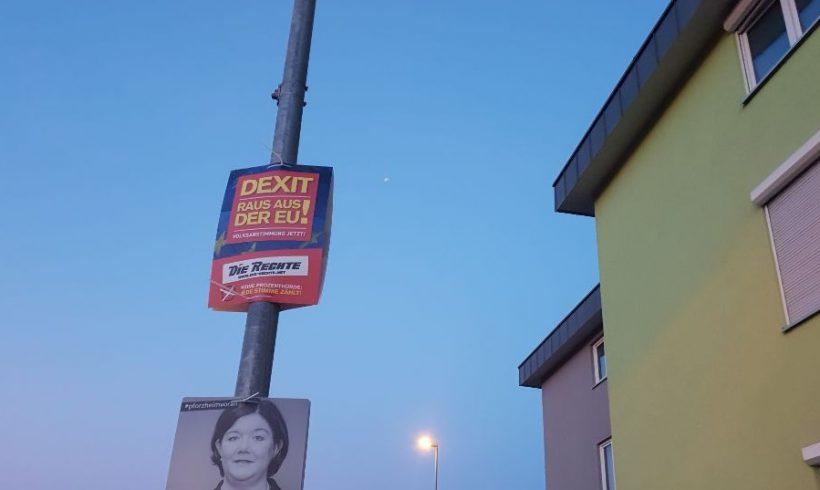 Aktionsbericht zur Wahlkampfwoche in Pforzheim