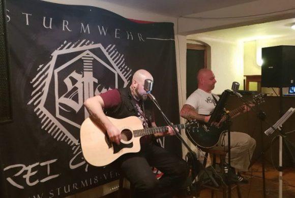 Vortrag zur Bombardierung von Karlsruhe und Liederabend mit Sturmwehr und Aria
