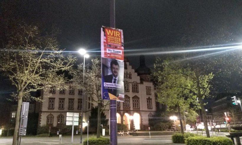 Wahlkampf-Aktionen in Wuppertal, Hamm und Kassel