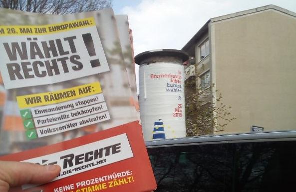 Bremerhaven: Wahlkampf beginnt mit Verteilaktion in Leherheide!