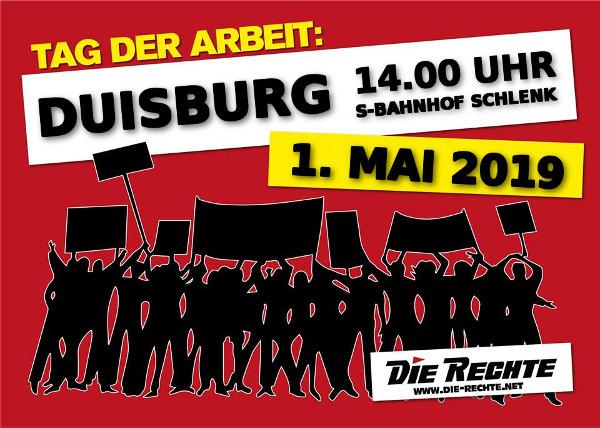 Infoübersicht zum 1. Mai in Duisburg: Mittwoch alle auf die Straße!