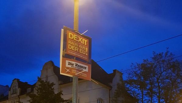 DIE RECHTE mit Plakatoffensive in Gelsenkirchen!