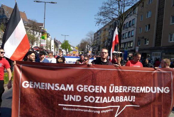 Wuppertal: Europawahlauftakt am 20. April 2019 für DIE RECHTE geglückt