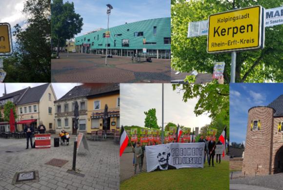 Bericht zur 6. Europawahlkampf-Woche im Rhein-Erft-Kreis