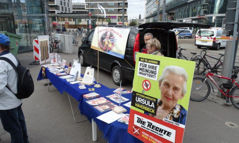 Wahlkampf-Aktionen in Dresden, Duisburg und im Landkreis Hildesheim